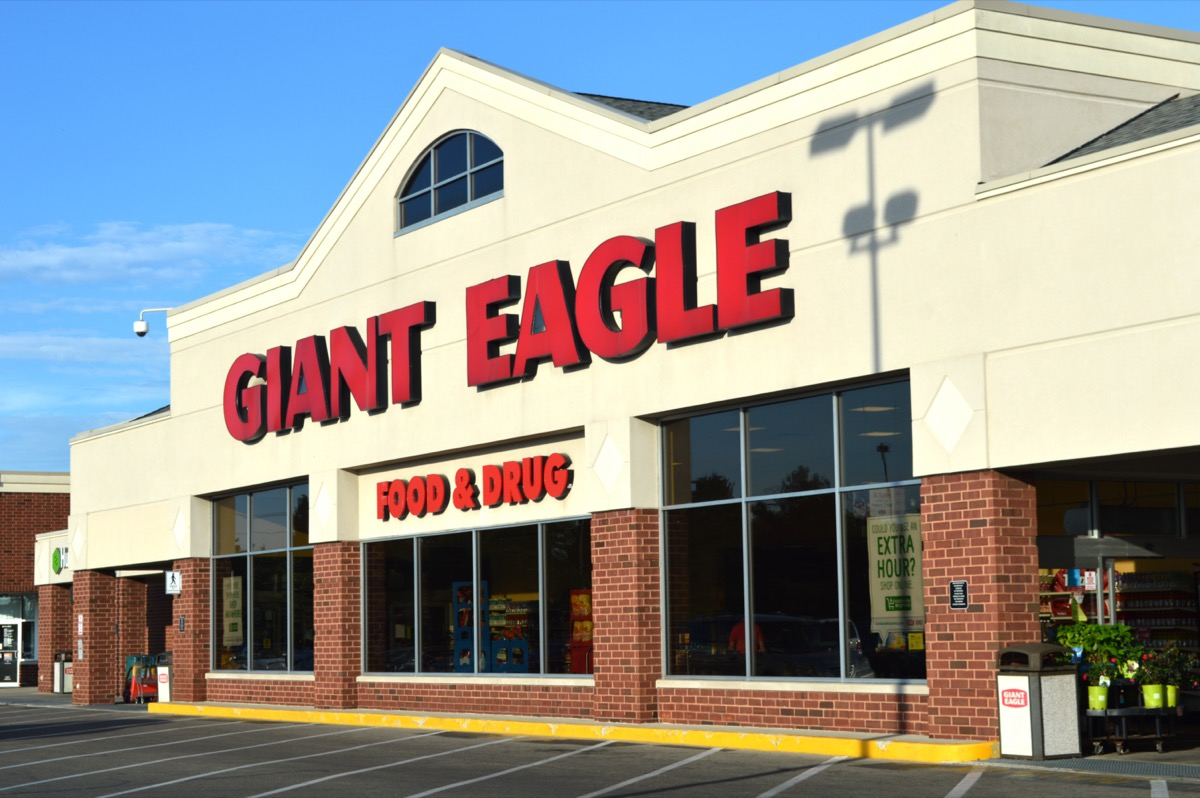 a Giant Eagle Grocery store in Columbus, Ohio