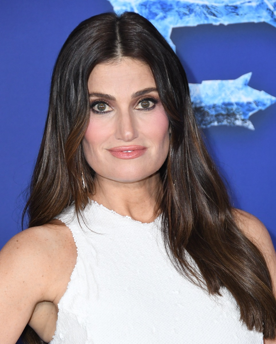 Idina Menzel at the premiere of 'Frozen 2' in 2019