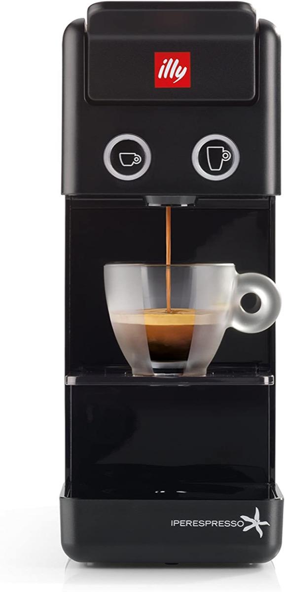 black illy espresso and coffee maker