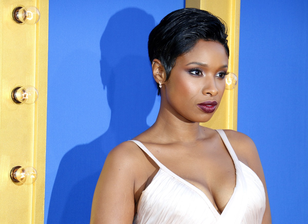 Jennifer Hudson at the premiere of 'Sing' in 2016