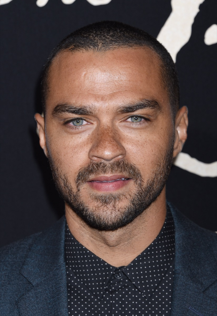 Jesse Williams at the premiere of 'The Birth Of A Nation' in 2016
