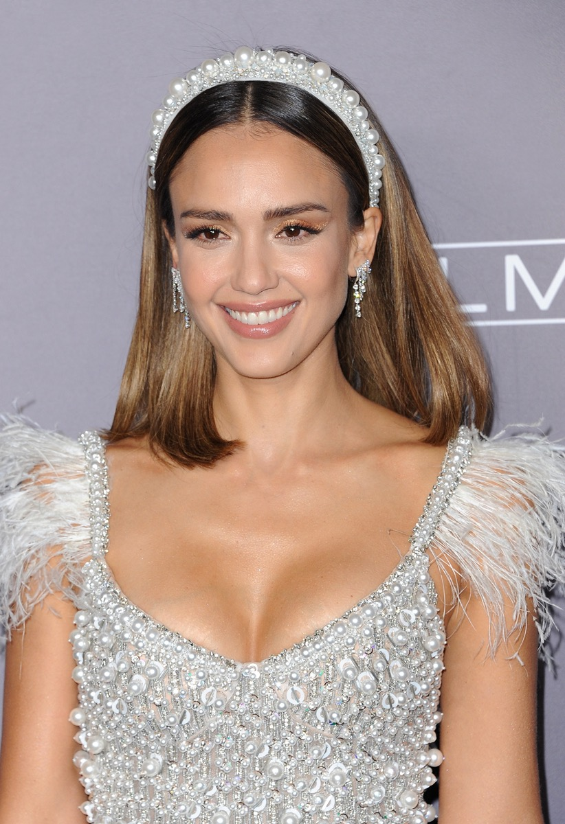 Jessica Alba at the Baby2Baby Gala in 2019