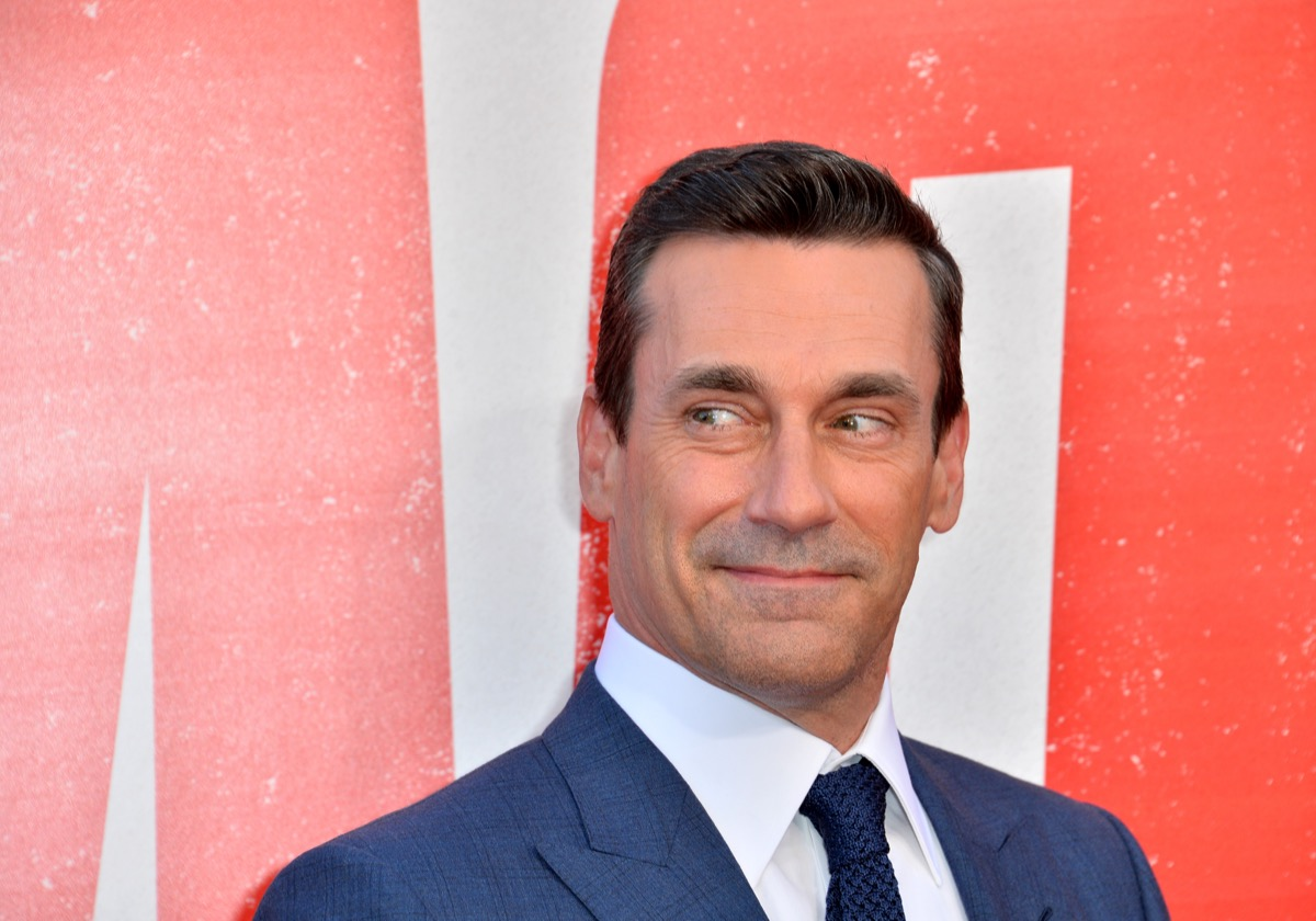 Jon Hamm at the world premiere of 'TAG' in 2018