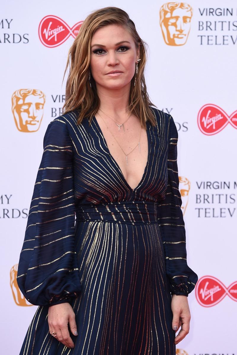 Julia Stiles at the BAFTA TV Awards in 2019