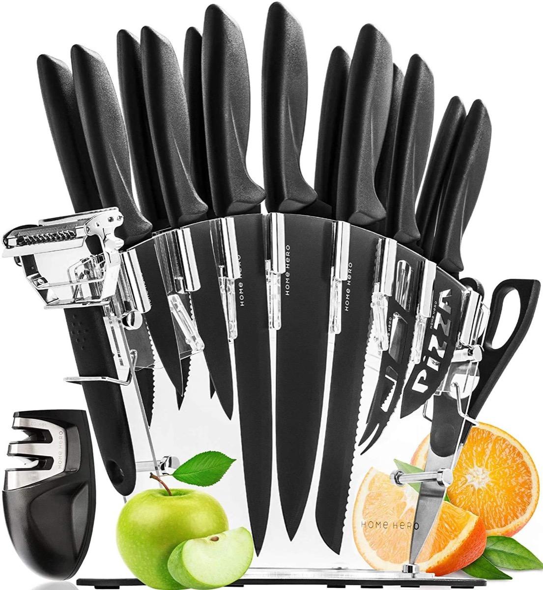 multi-piece knife set