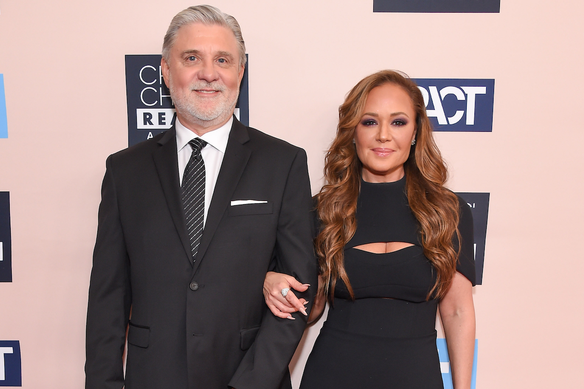Mike Rinder and Leah Remini arrives for the Critics Choice Reels Awards on June 02, 2019 in Beverly Hills, CA