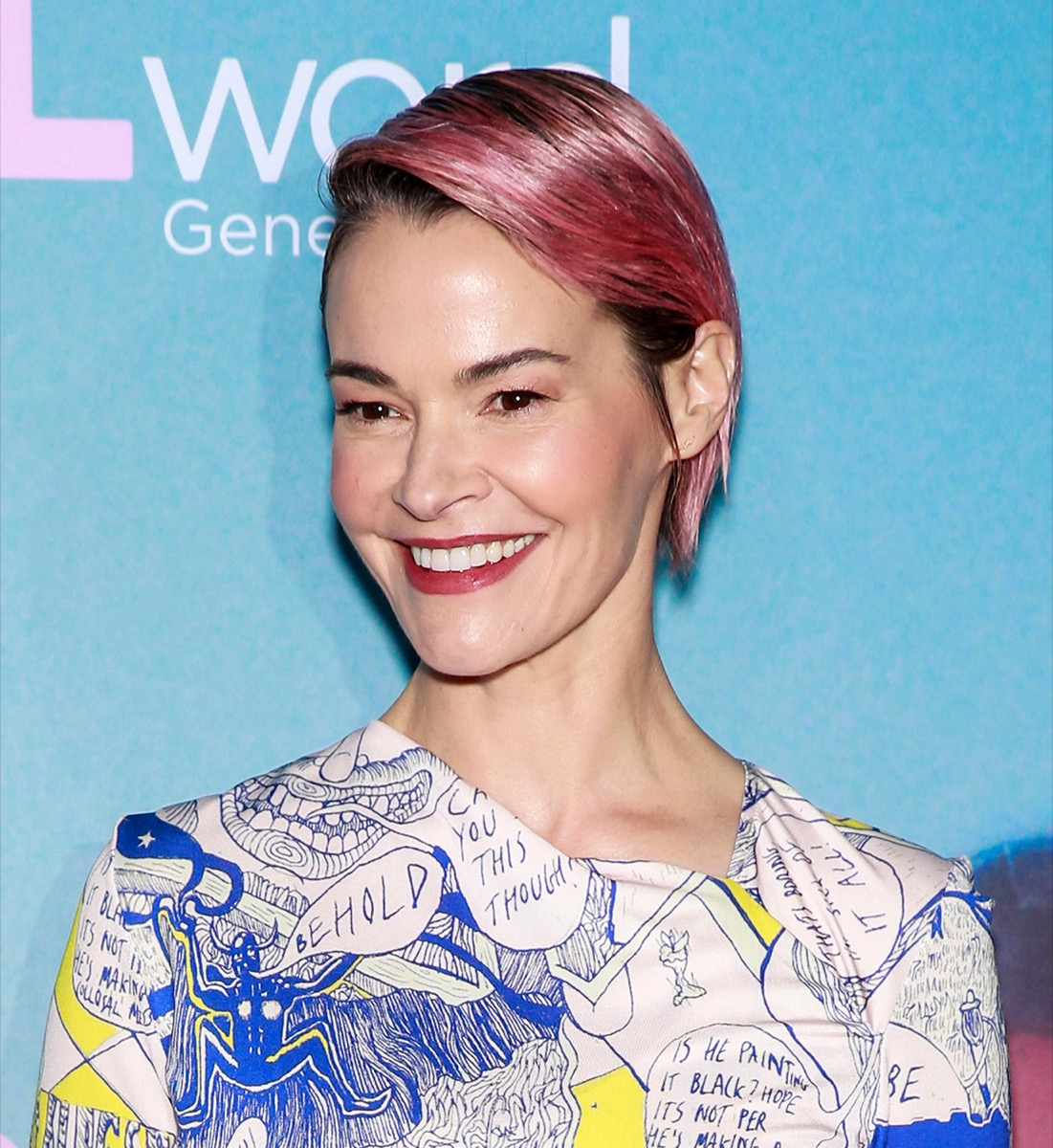Leisha Hailey at the premiere of 'The L Word' in 2019
