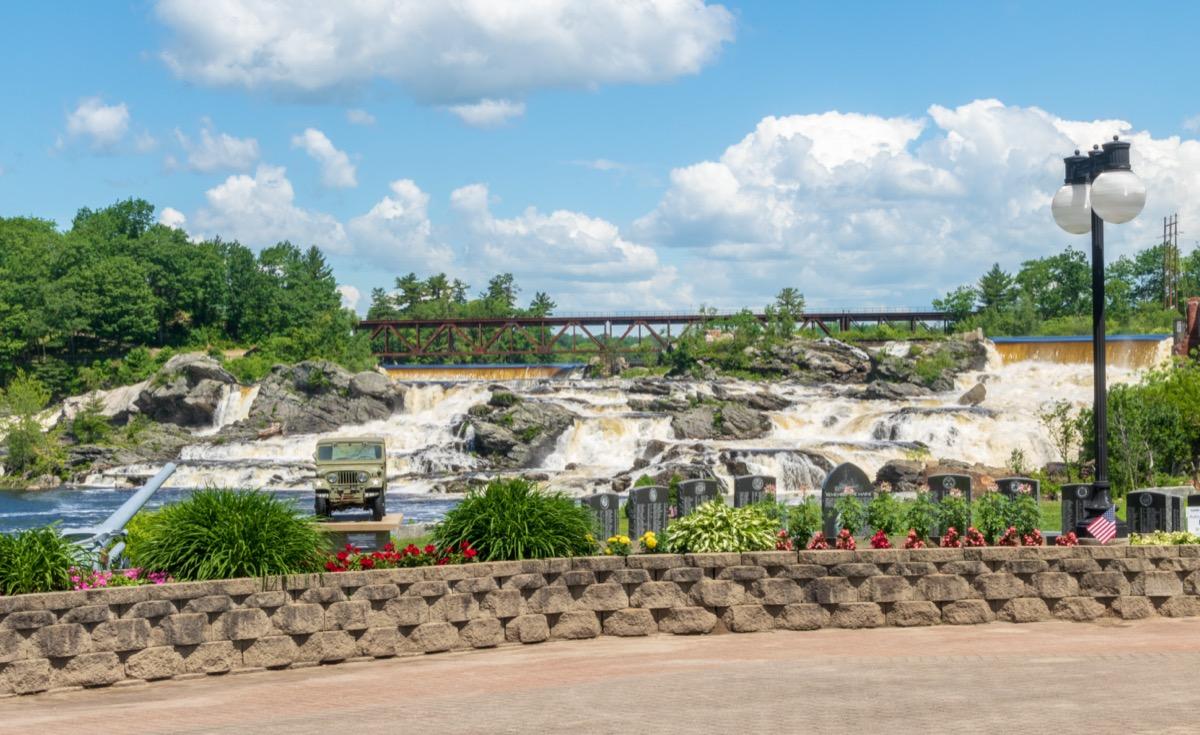 waterfalls in lewiston maine