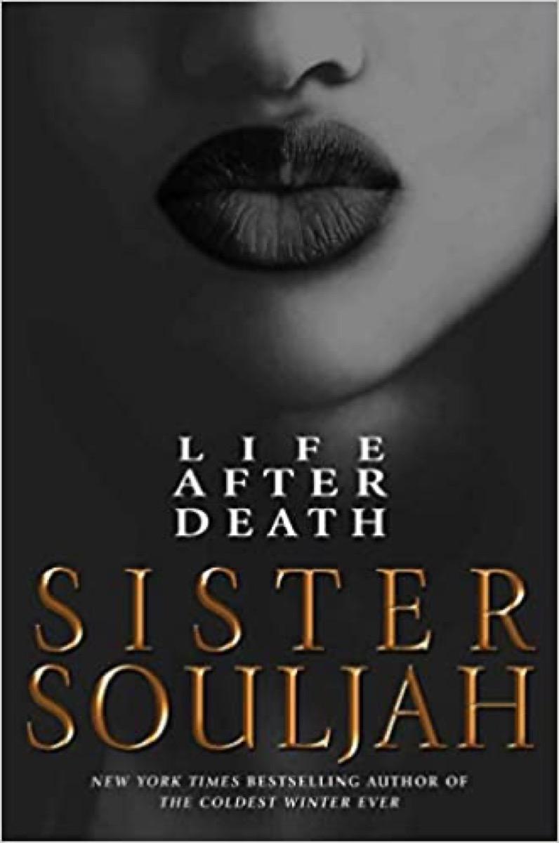 book cover of Sister Souljah's novel 'Life After Death'