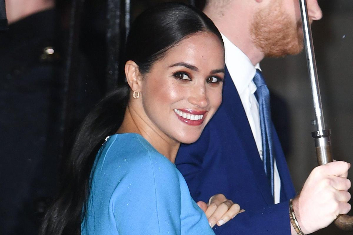 Meghan Markle, Duchess of Sussex attending the Endeavour Fund Awards held at the Mansion House, London on Thursday March 5, 2020.