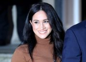 Meghan Markle (Duchess of Sussex) visits Canada House, London, UK, on January 7, 2020