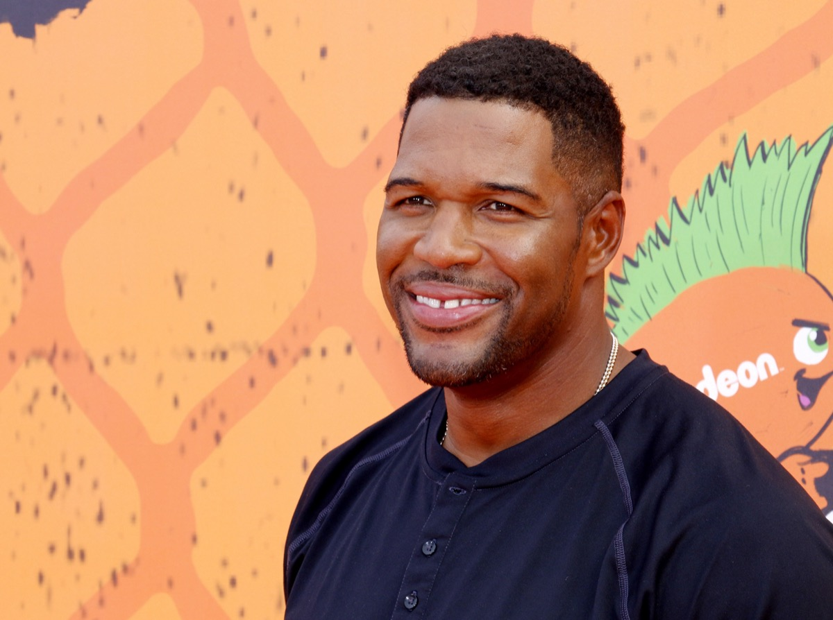 Michael Strahan at the Kids' Choice Sports Awards in 2016