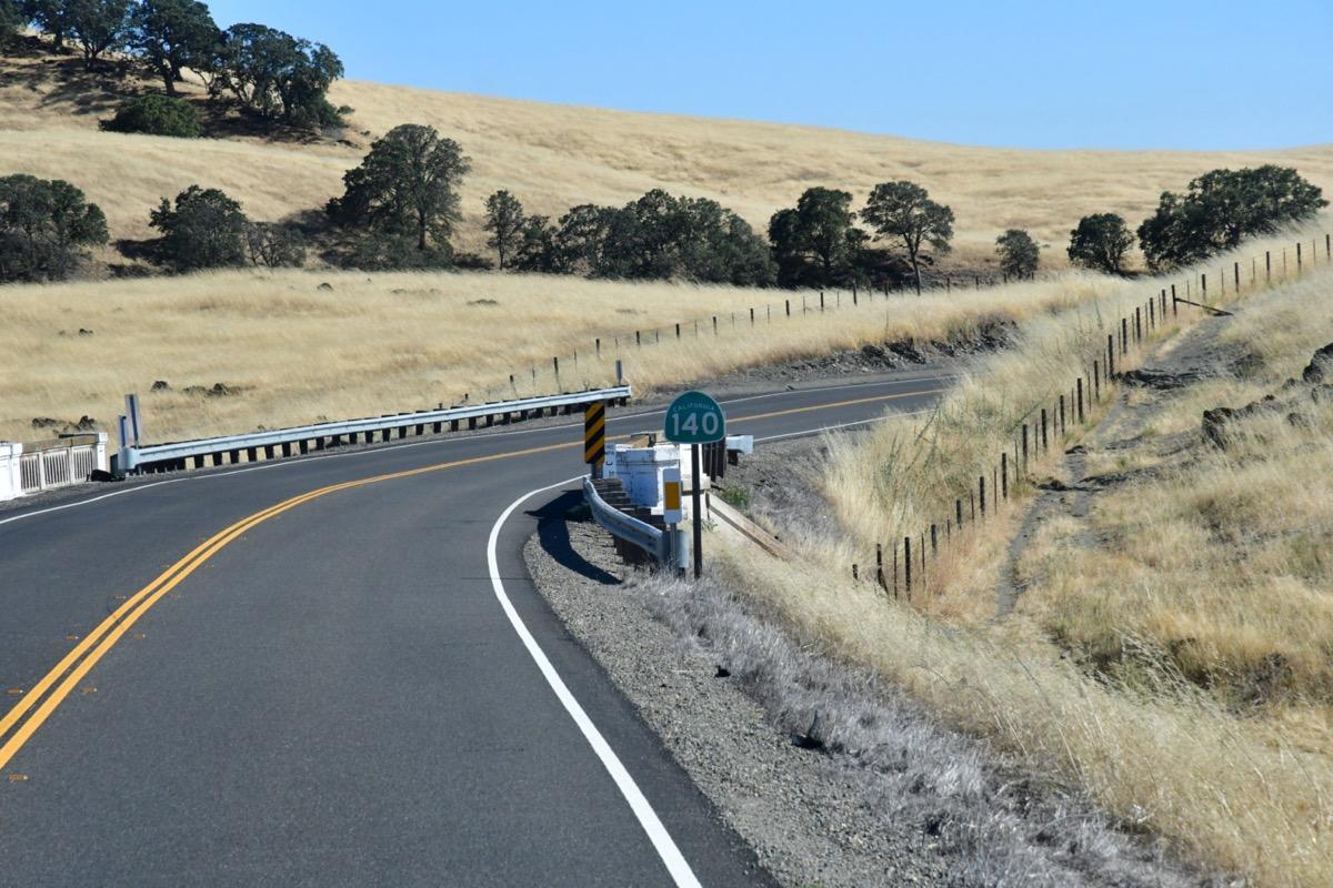 modesto california landscape
