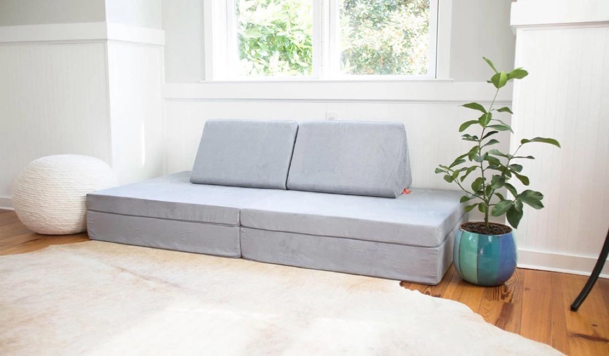 gray nugget play sofa