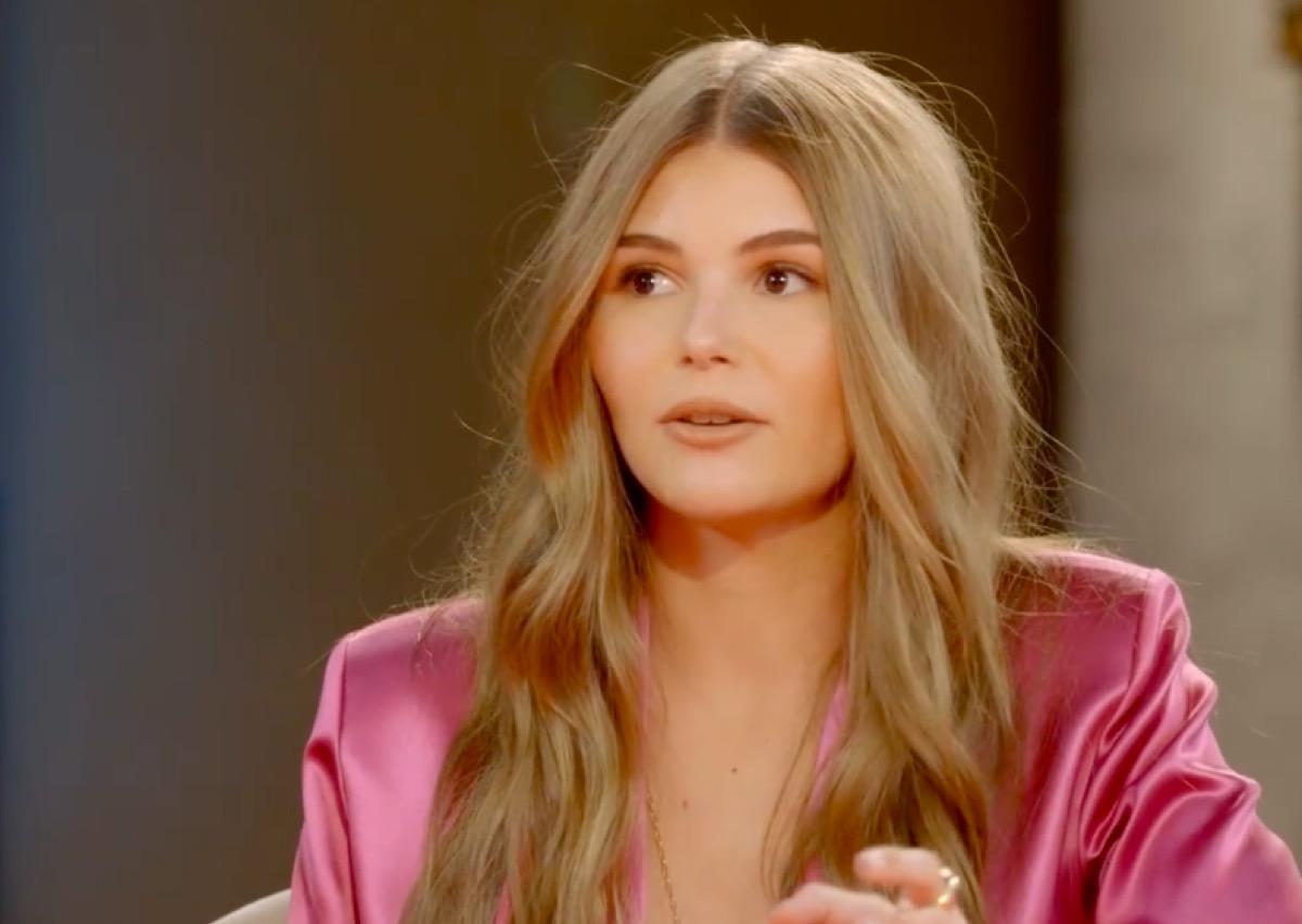 """Olivia James on """"Red Table Talk"""""""