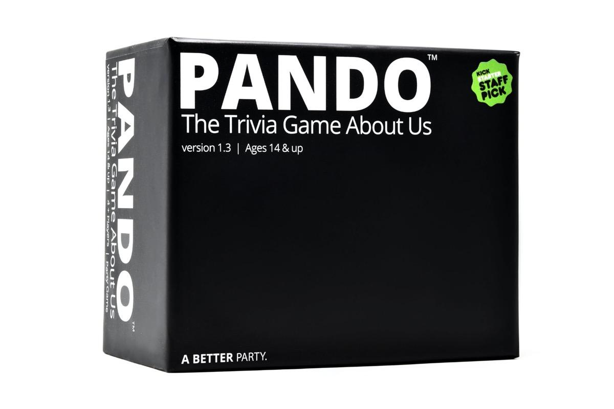 black box of pando trivia game
