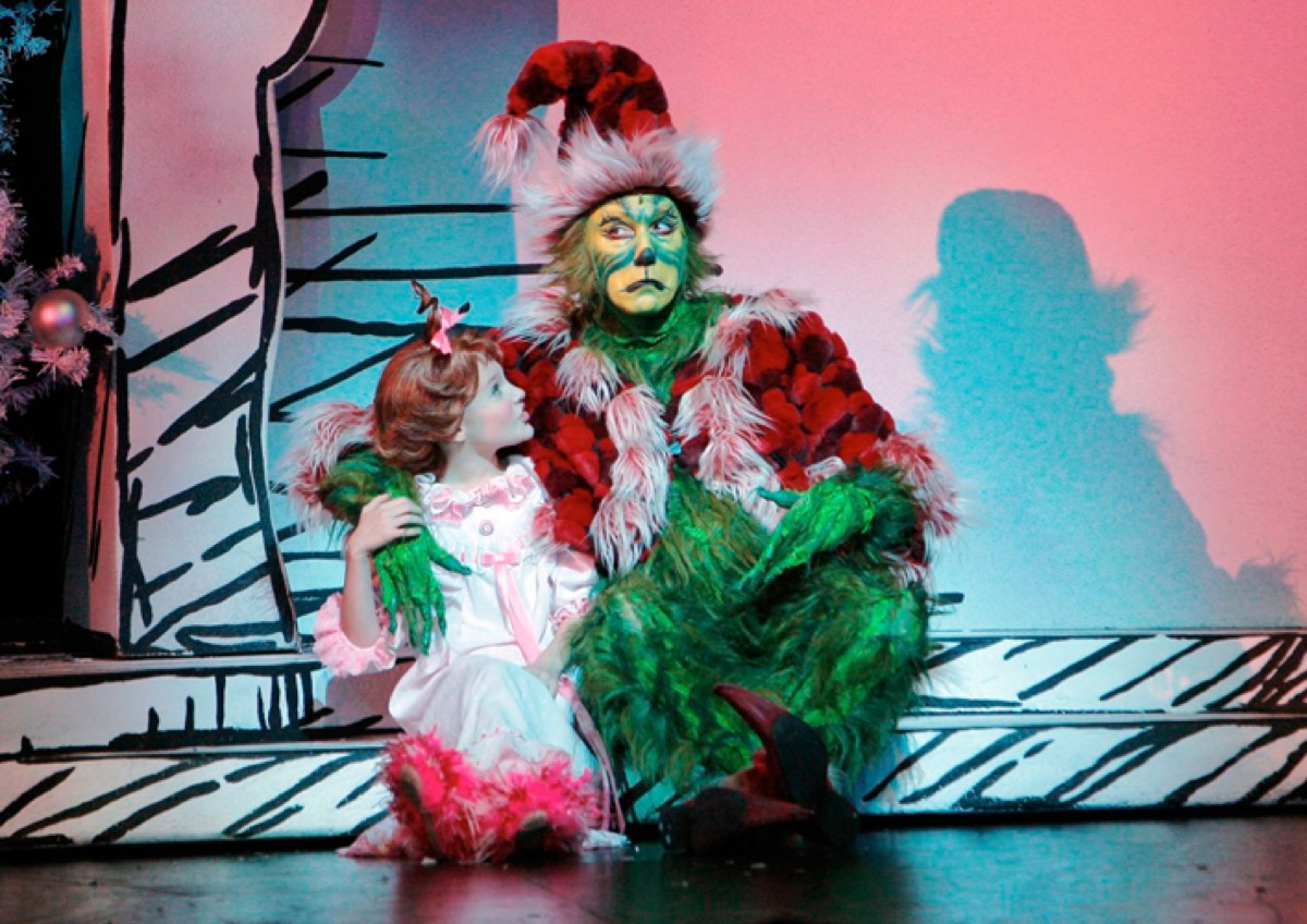 Patrick Page in The Grinch musical