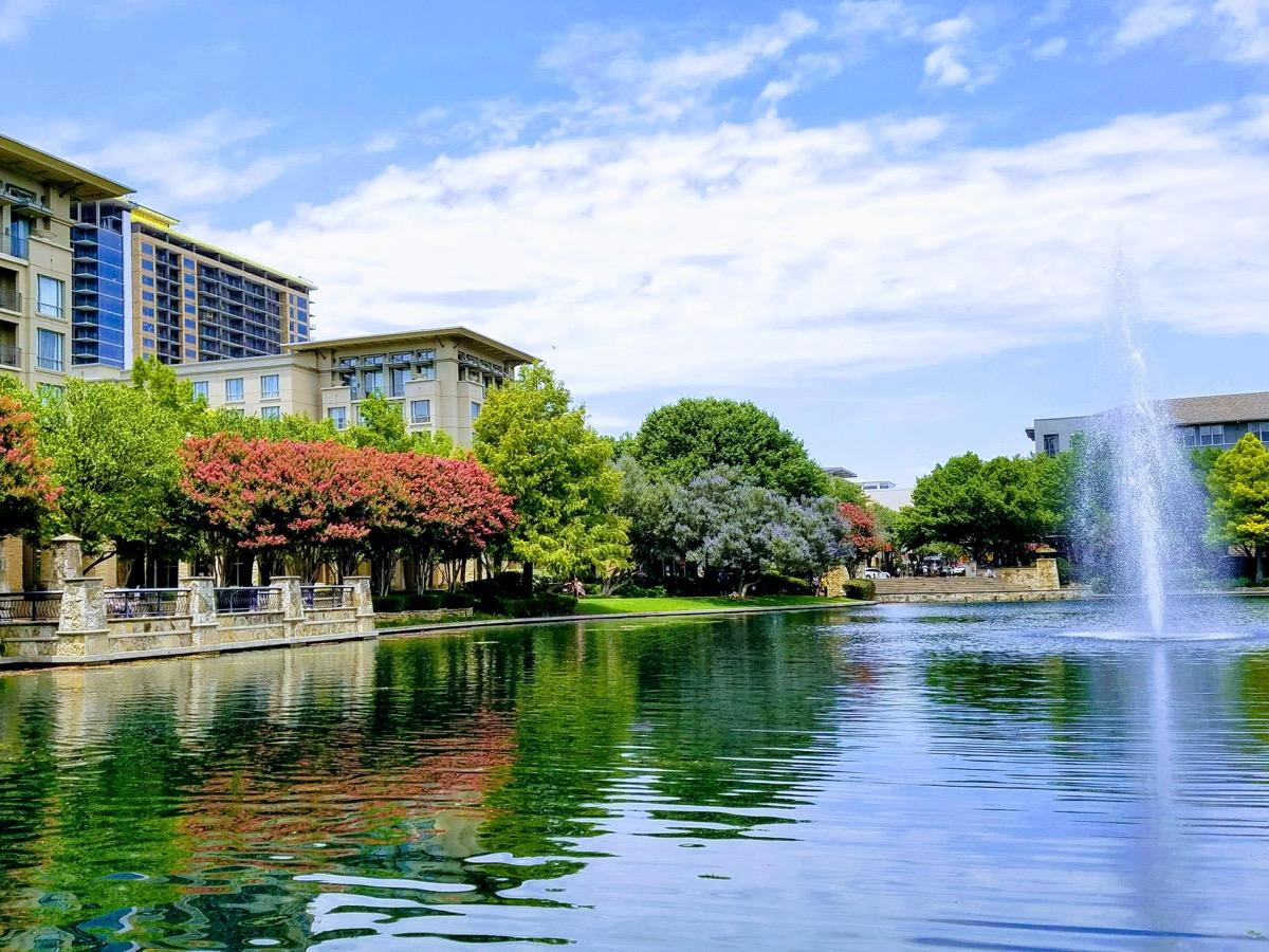 cityscape photo of downtown Plano, Texas
