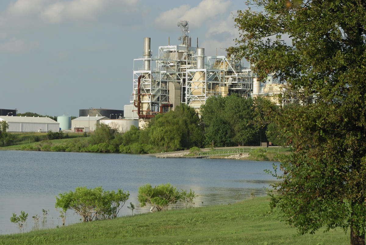 power plant in garland texas