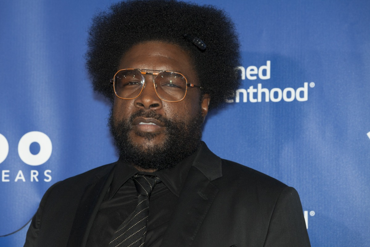 Questlove at the Planned Parenthood Anniversary Gala in 2017