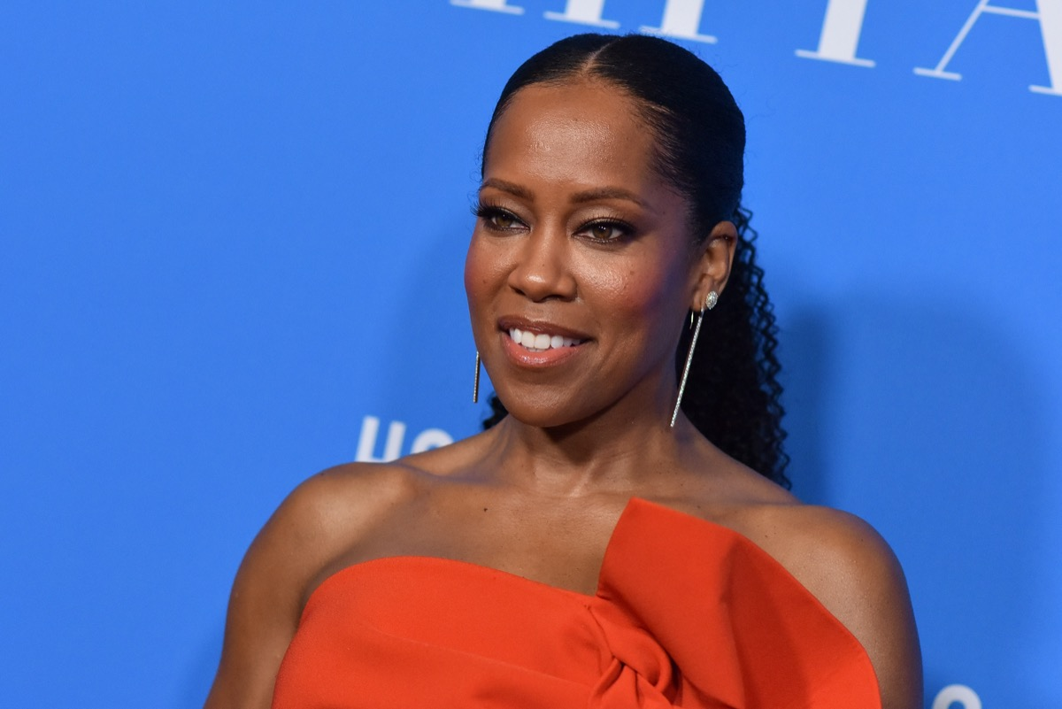 Regina King at the Hollywood Foreign Press Association's Grants Banquet in 2018