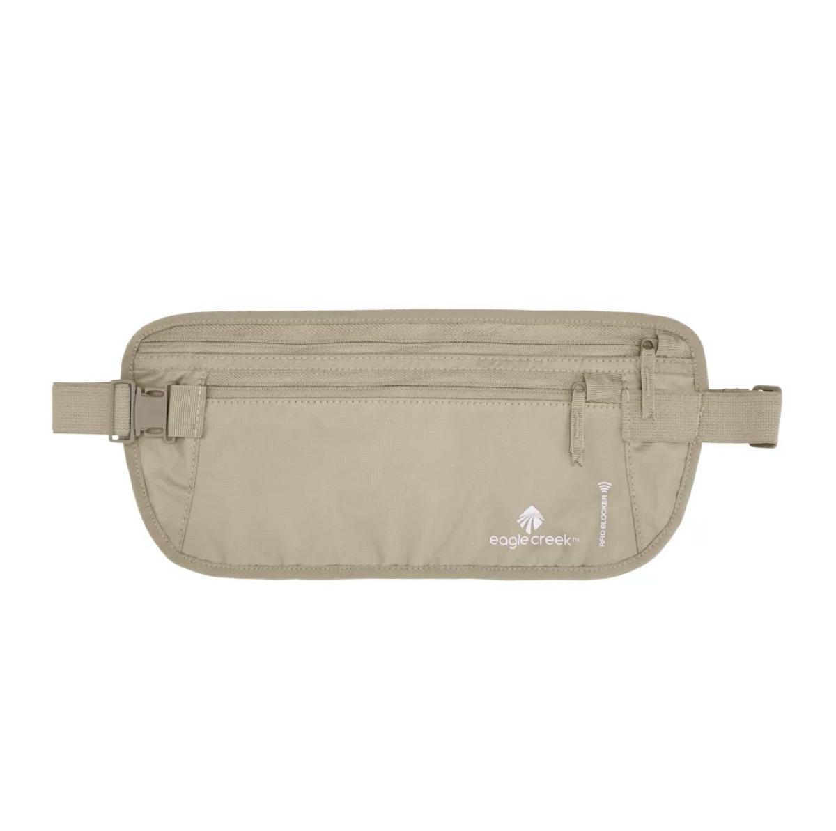 tan belt bag
