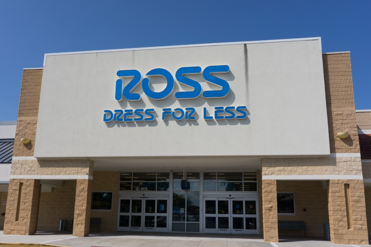 a Ross store in Jacksonville, Florida