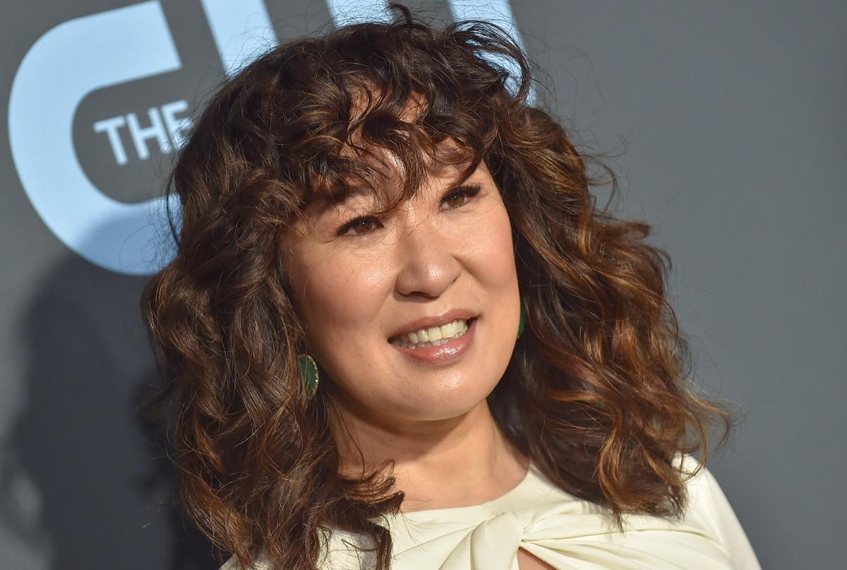 Sandra Oh at the Critics' Choice Awards in 2019
