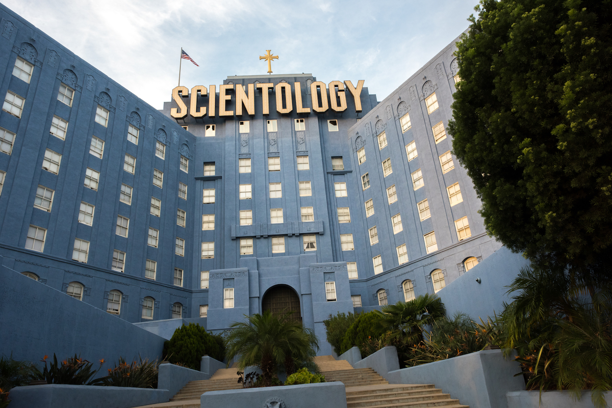 Church of Scientology building in Los Angele