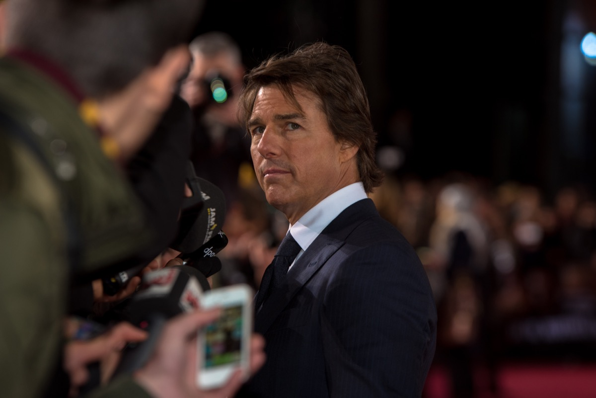 Tom Cruise at the German premiere from Jack Reacher on October 21, 2016 in Berlin, Germany..