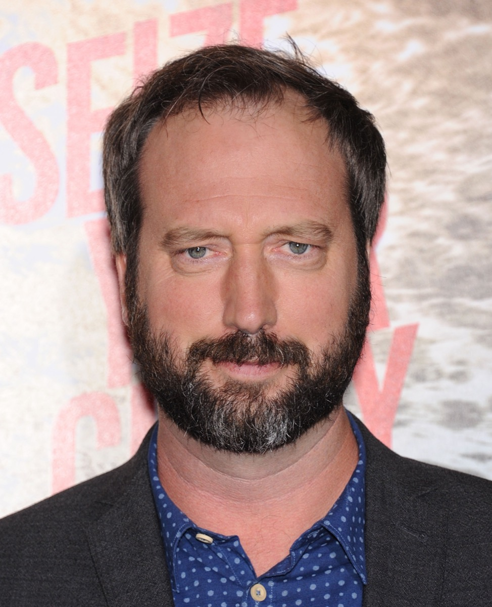 Tom Green at the premiere of '300: Rise of An Empire' in 2014