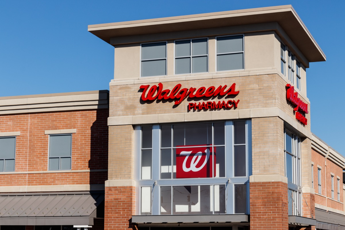 the outside of a Walgreens in Cincinnati, Ohio