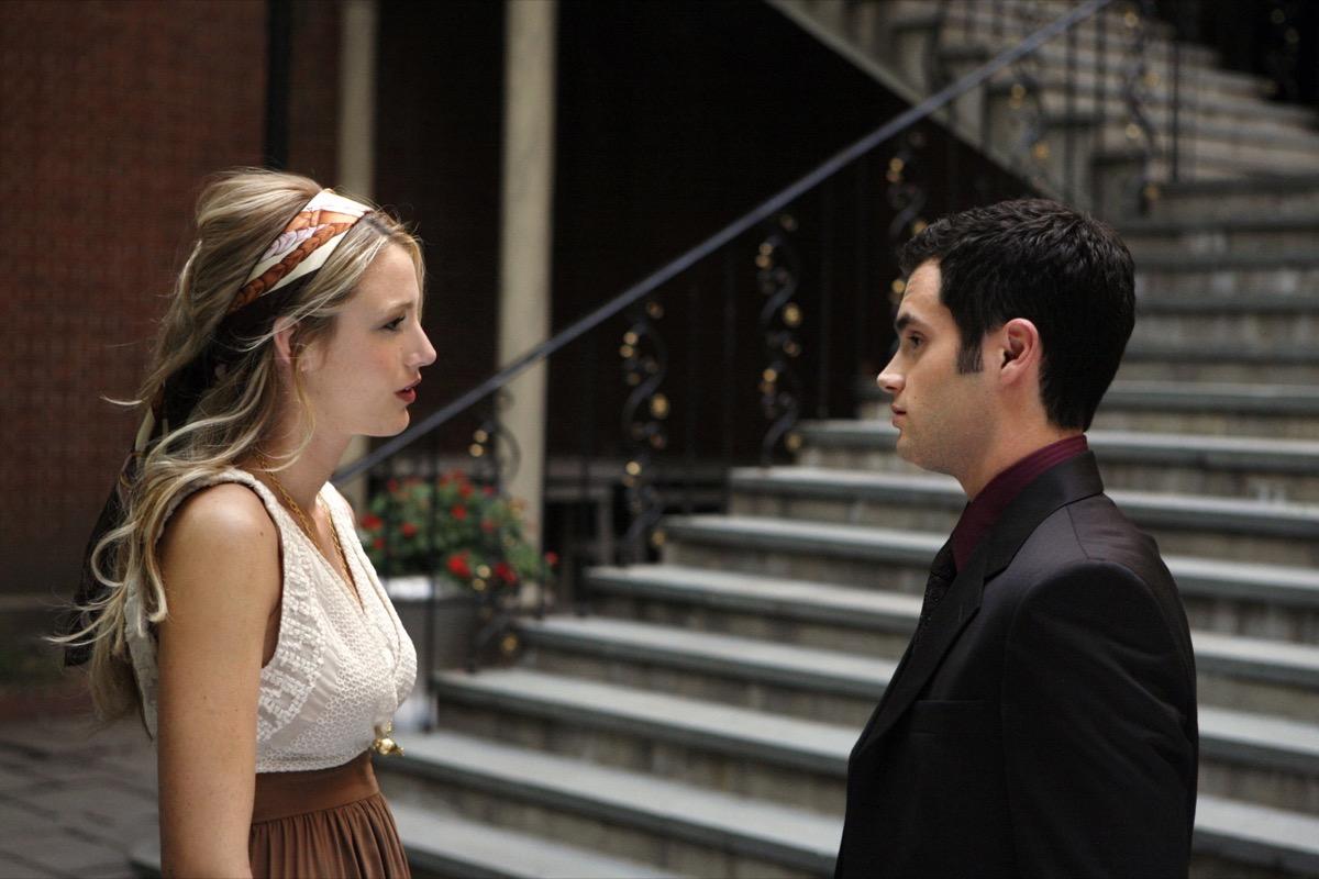 serena and dan on gossip girl