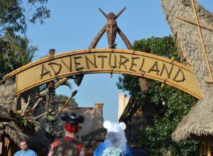 Disneyland Adventureland Entrance