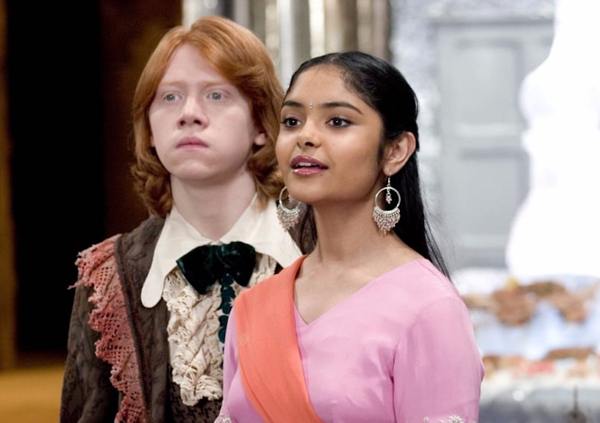 Afshan Azad as Padma Patil in Harry Potter
