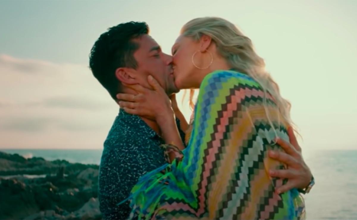 Amanda Seyfried and Dominic Cooper in Mamma Mia Here We Go Again