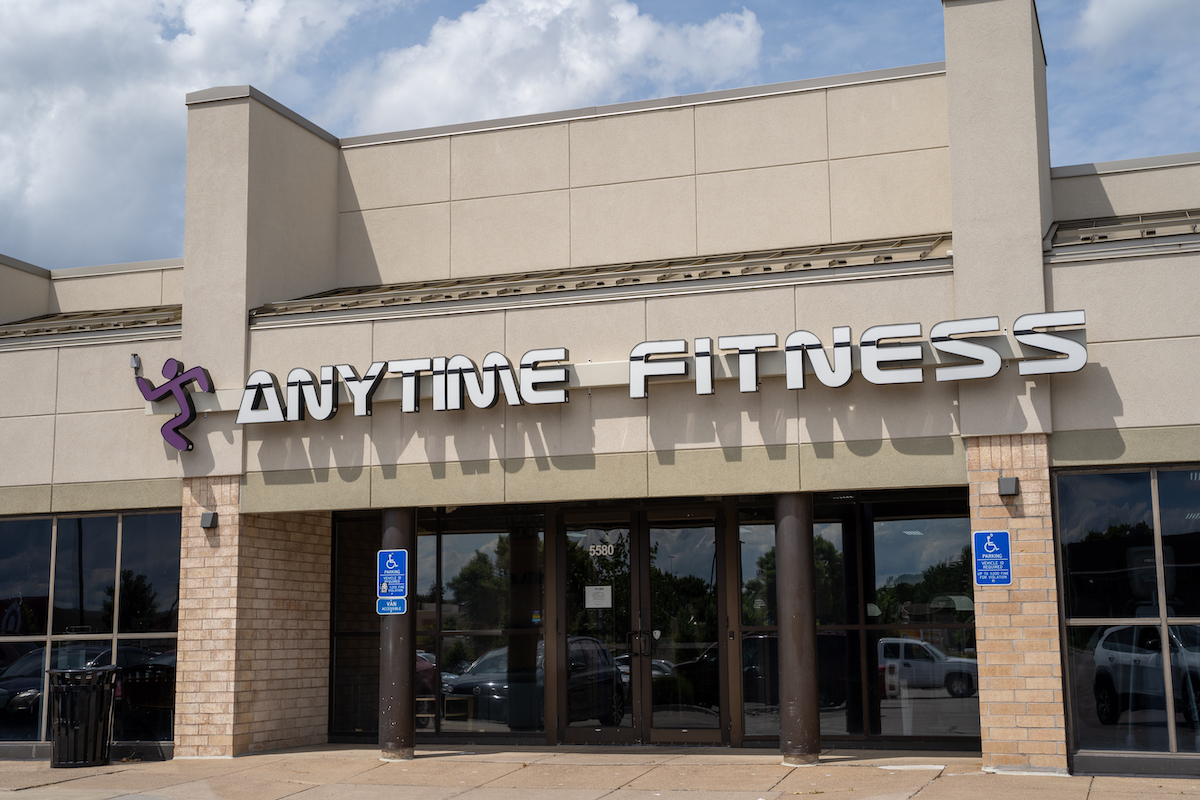 Anytime fitness location exterior