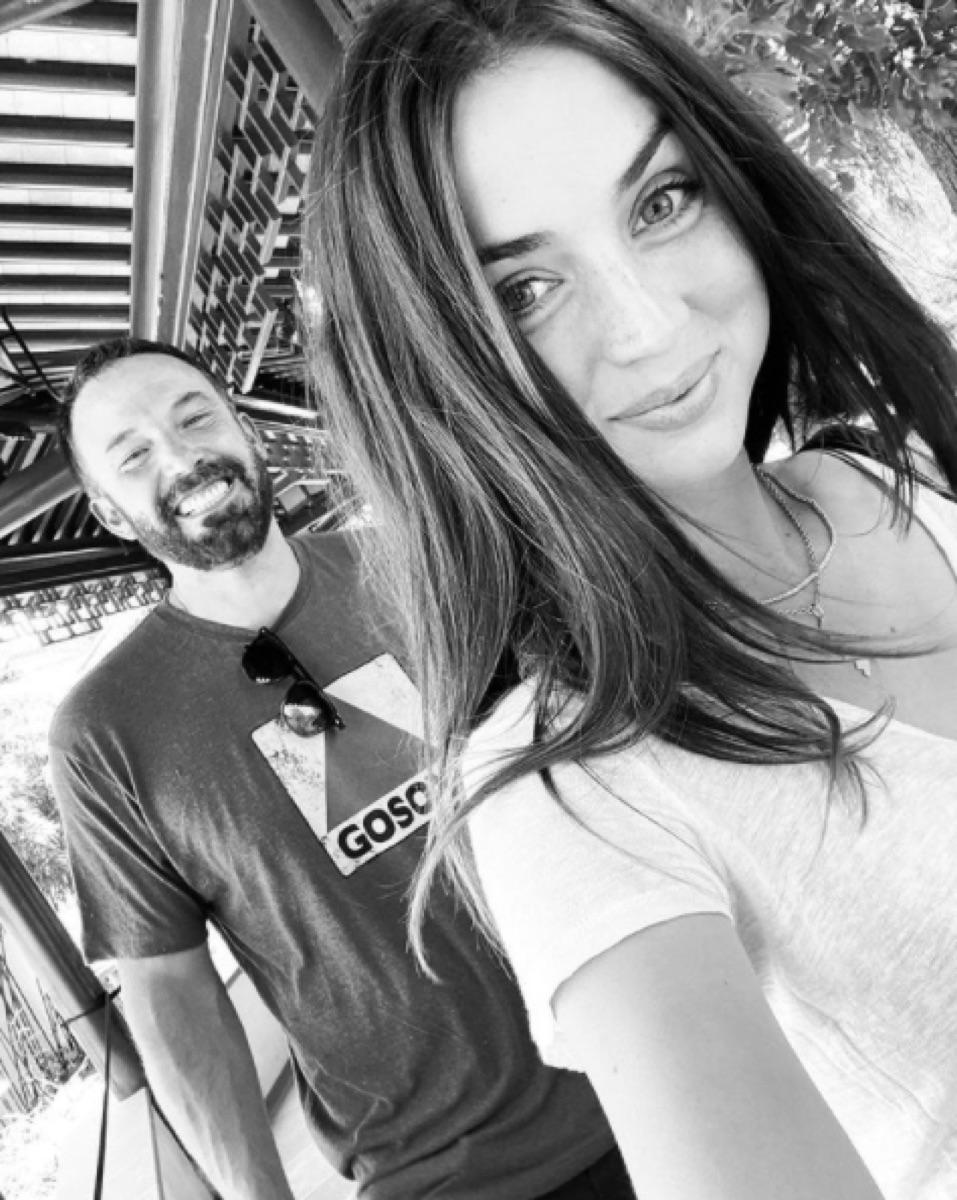 Ben Affleck and Ana de Armas Instagram selfie