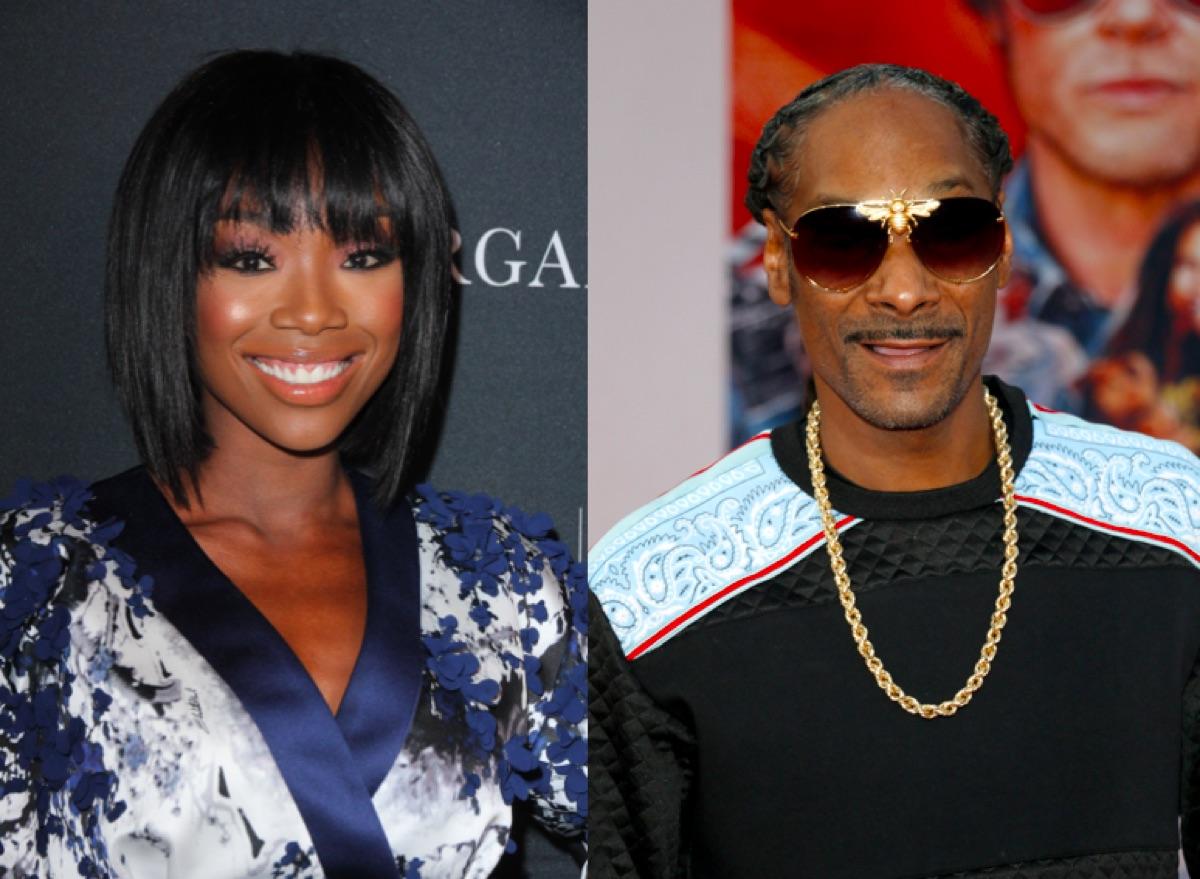 Brandy and Snoop Dogg