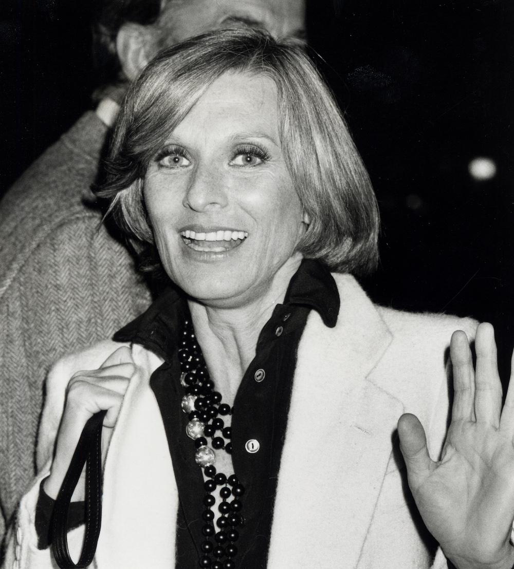 Cloris Leachman Sighting at La Scala Restaurant in Beverly Hills - February 1, 1978