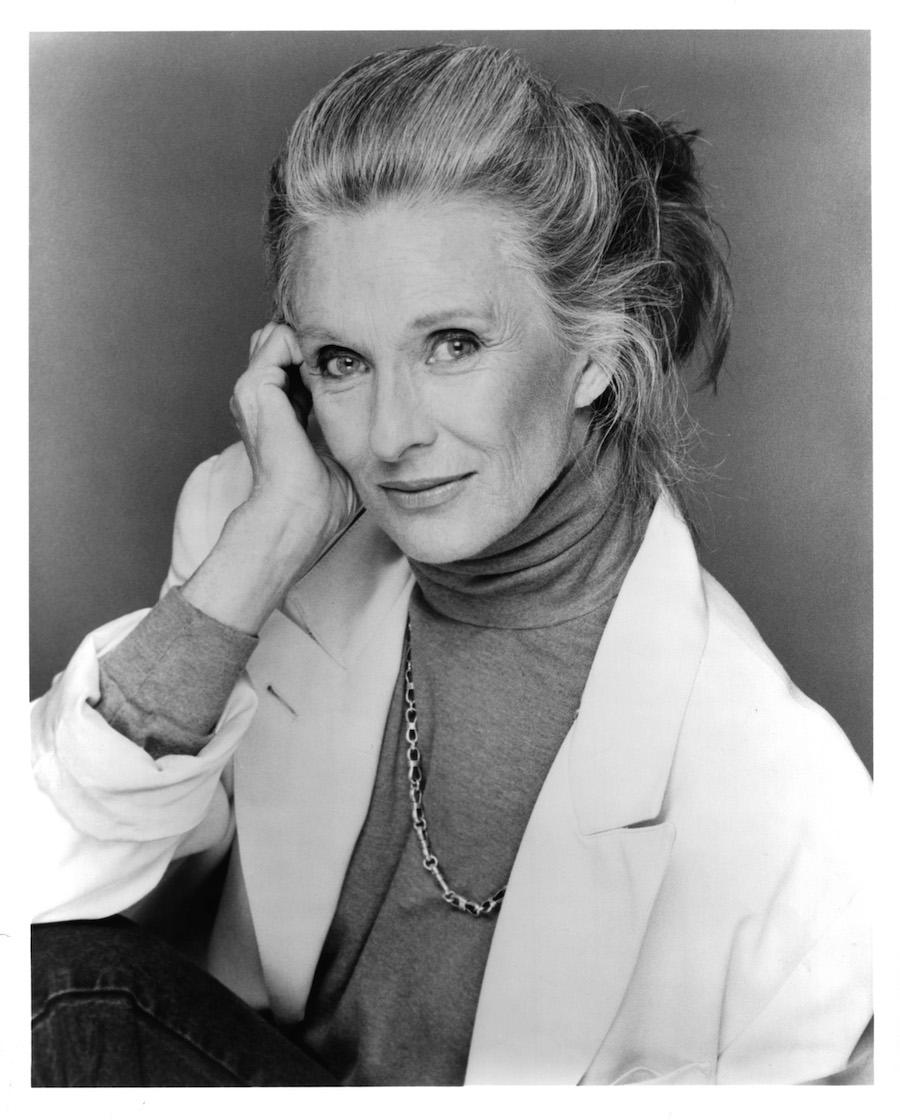 Actress Cloris Leachman poses for a portrait in circa 1985