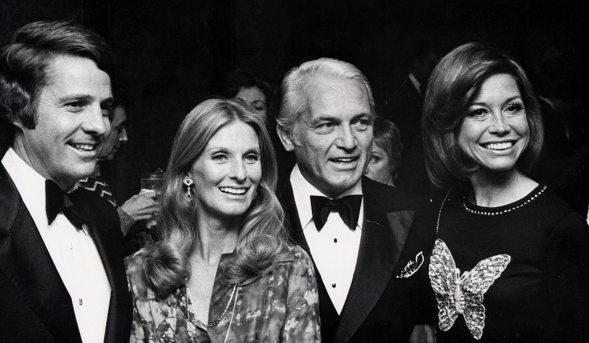 Cloris Leachman and Mary Tyler Moore
