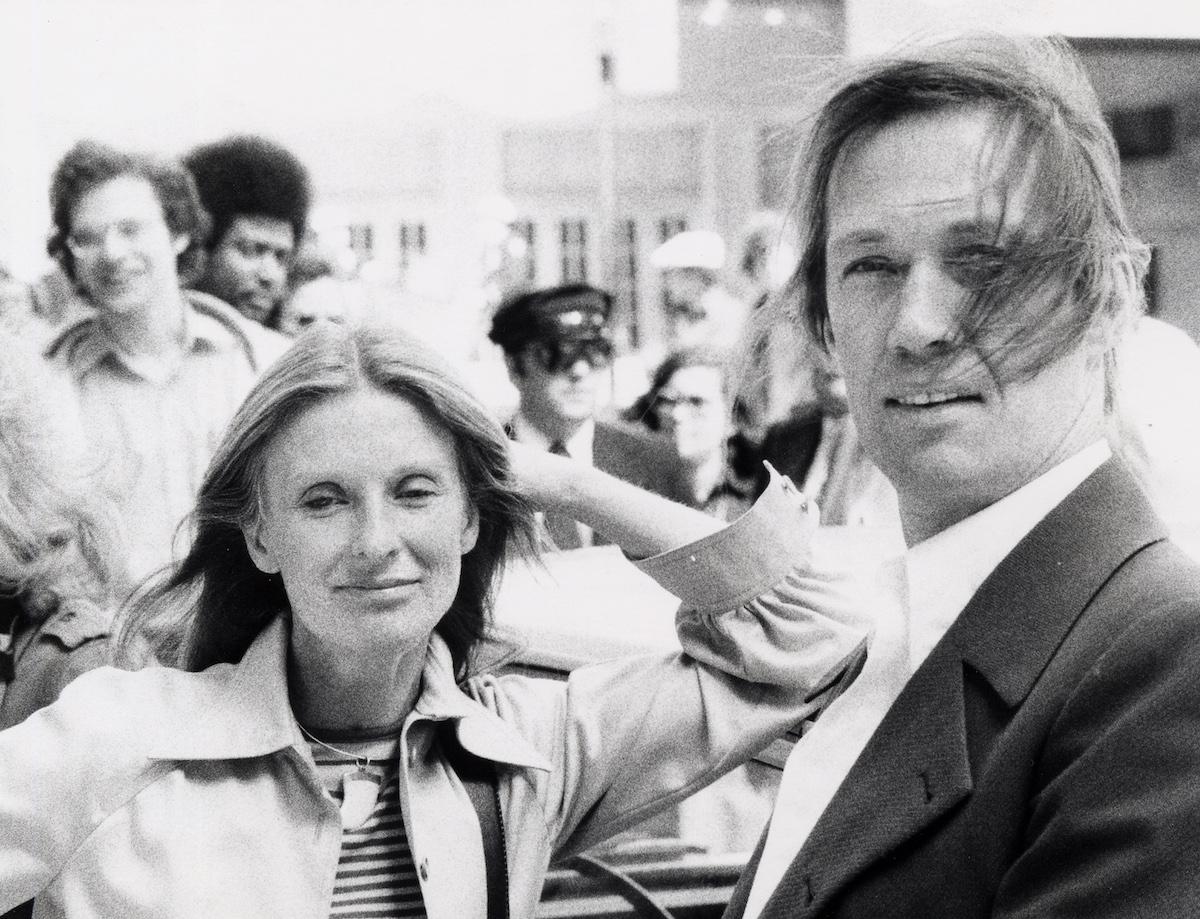 Cloris Leachman and David Carradine