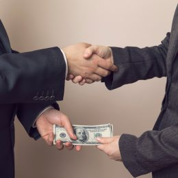 Corrupt business deal