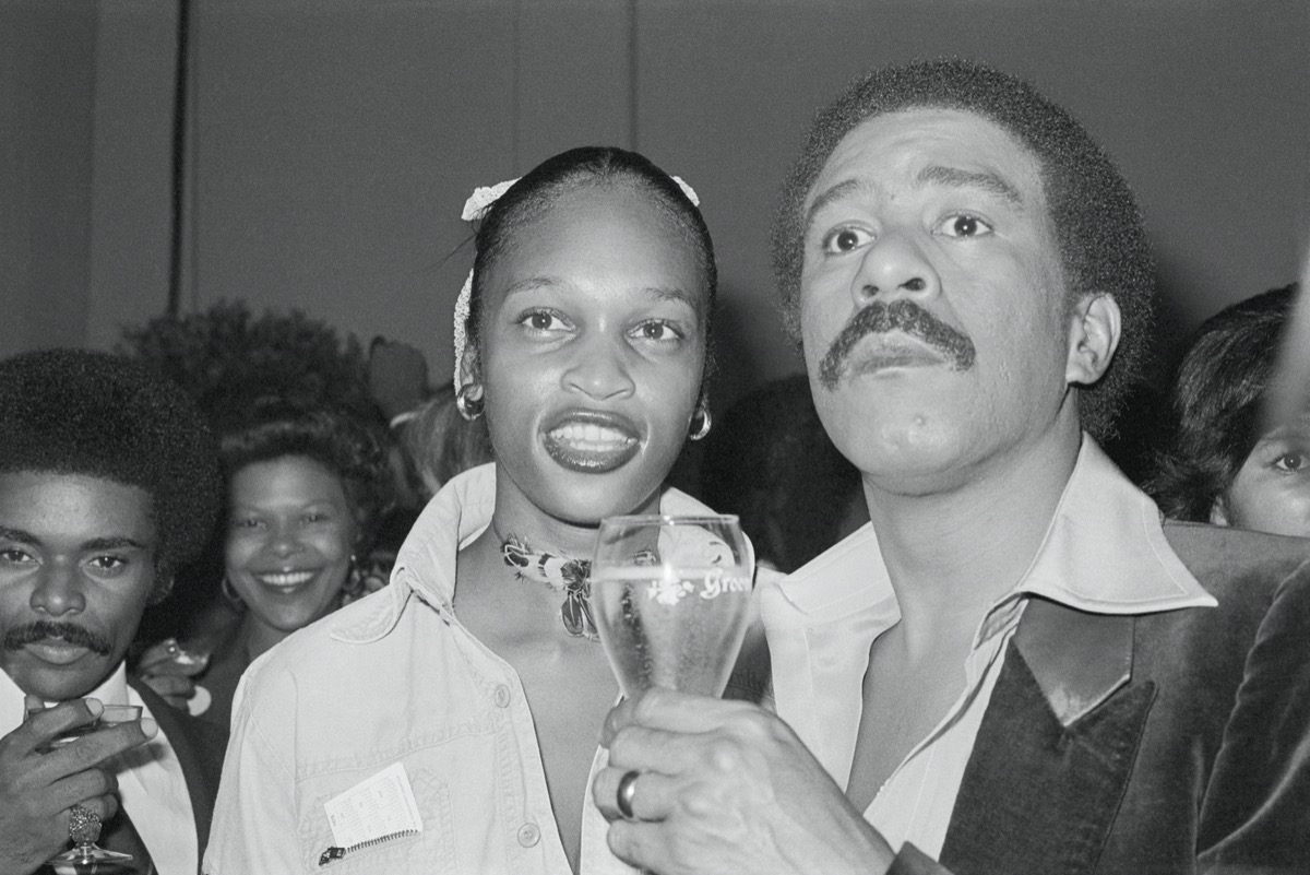 Deborah McGuire and Richard Pryor