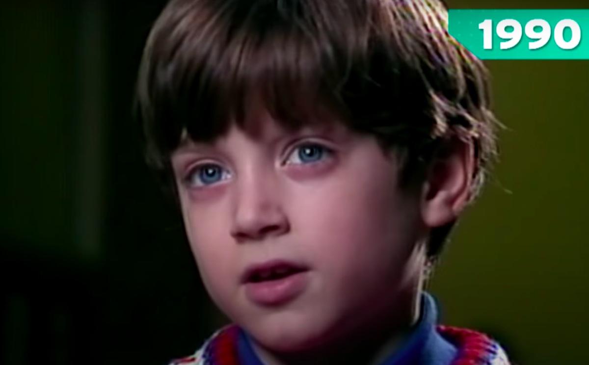 Elijah Wood 1990 Entertainment Tonight interview