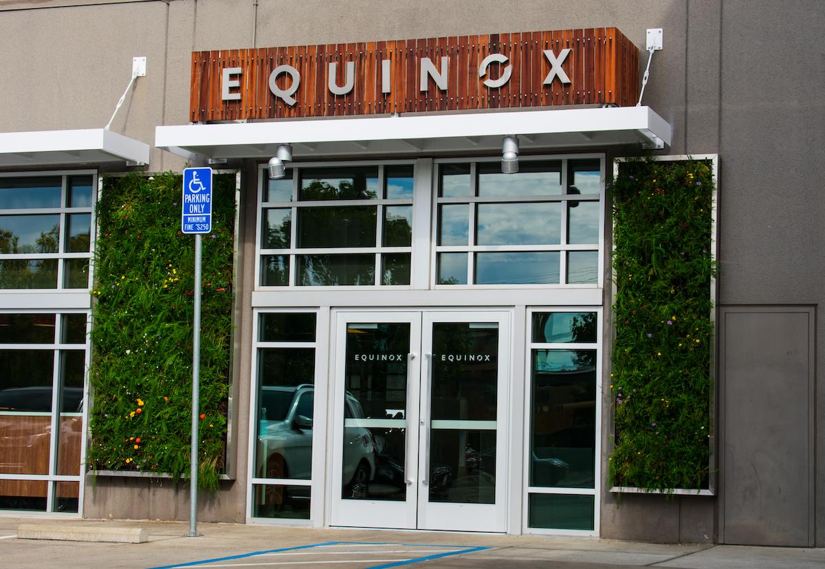 Equinox fitness club exterior