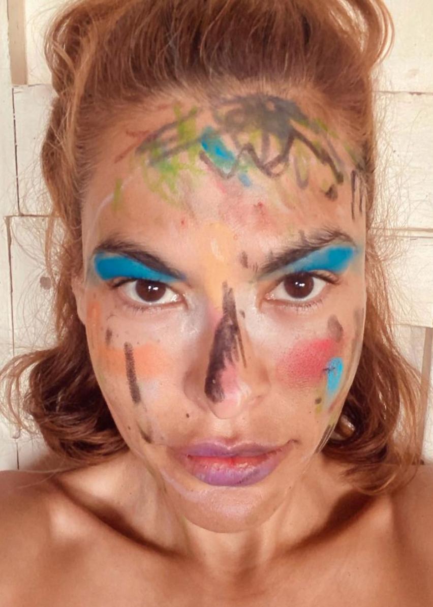 Eva Mendes makeup