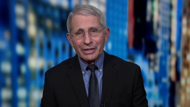 """Dr. Fauci discusses Brazilian strain on CNN's """"Out Front"""" with Erin Burnett."""