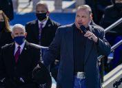 Garth Brooks signing at President Biden's Inauguration